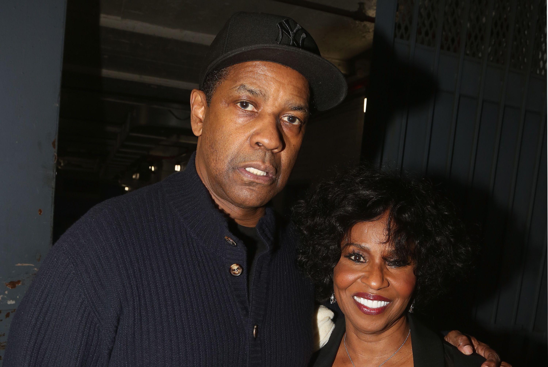 Denzel Washington és Pauletta Washington - Fotó: Getty Images