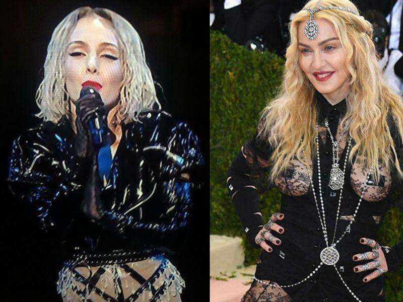 Ciprusi énekesnő az Eurovízión, jól hozta Madonnát