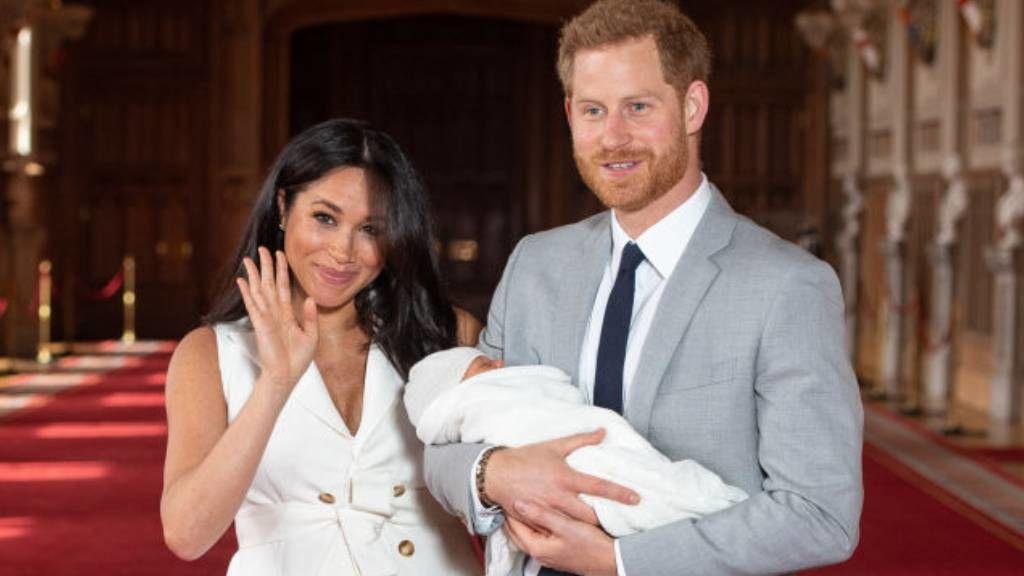 Meghan Markle, Harry herceg és a kis Archie Fotó: Getty Images