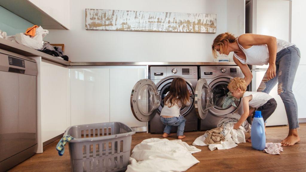 mosás szennyes szortírozás