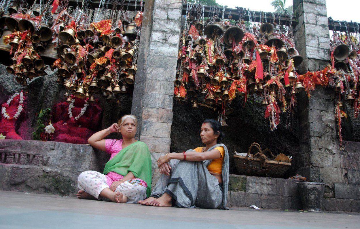 Az indiai bhakták rendszeresen összegyűlnek istennőjük menstruációs időszakának megünneplésére (Fotó: Profimedia)