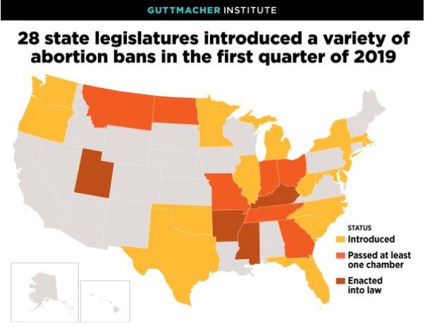 abortusz abortusztörvény egyesült államok
