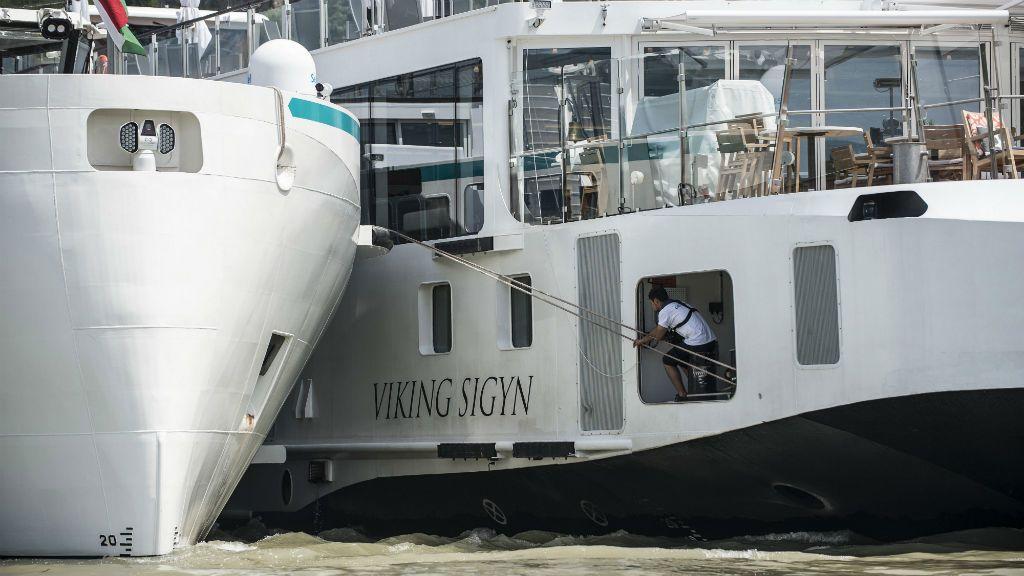 Viking Sigyn szállodahajó hajóbaleset