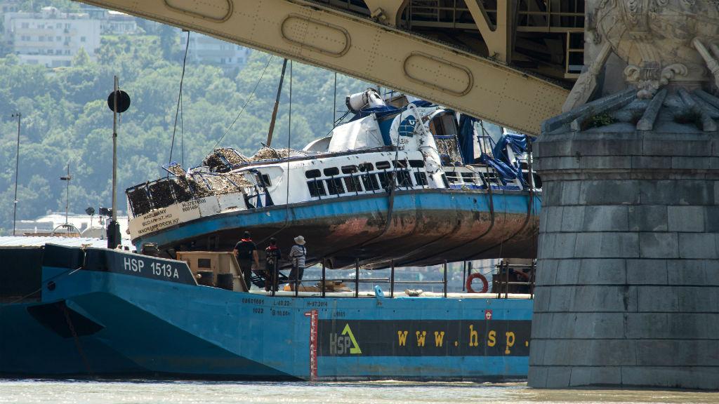 hableány hajóbaleset kiemelés