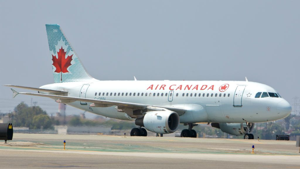 repülőgép air canada