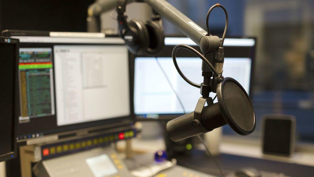 rádió stúdió