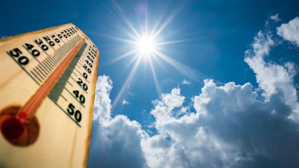 hőség kánikula hőmérő