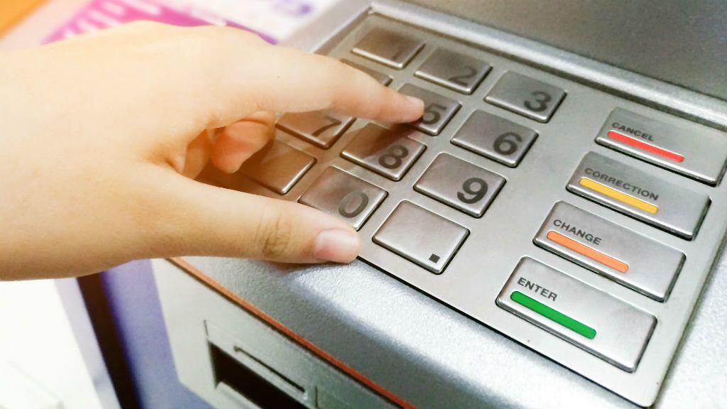 bankautomata pénzfelvétel