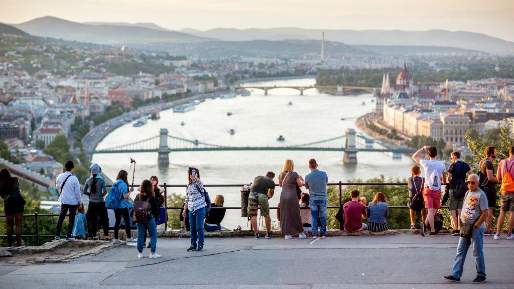budapest turista turizmus Gellért-hegy