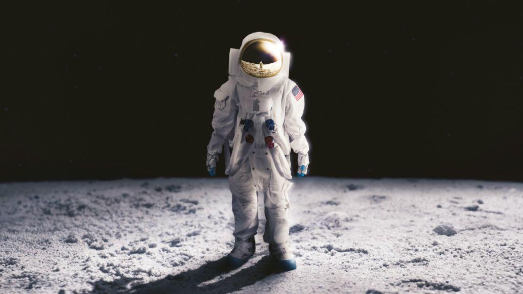 NASA űrhajós asztronauta holdraszállás