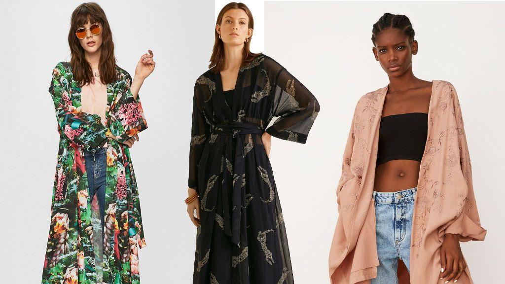 kimonó kaftán divat