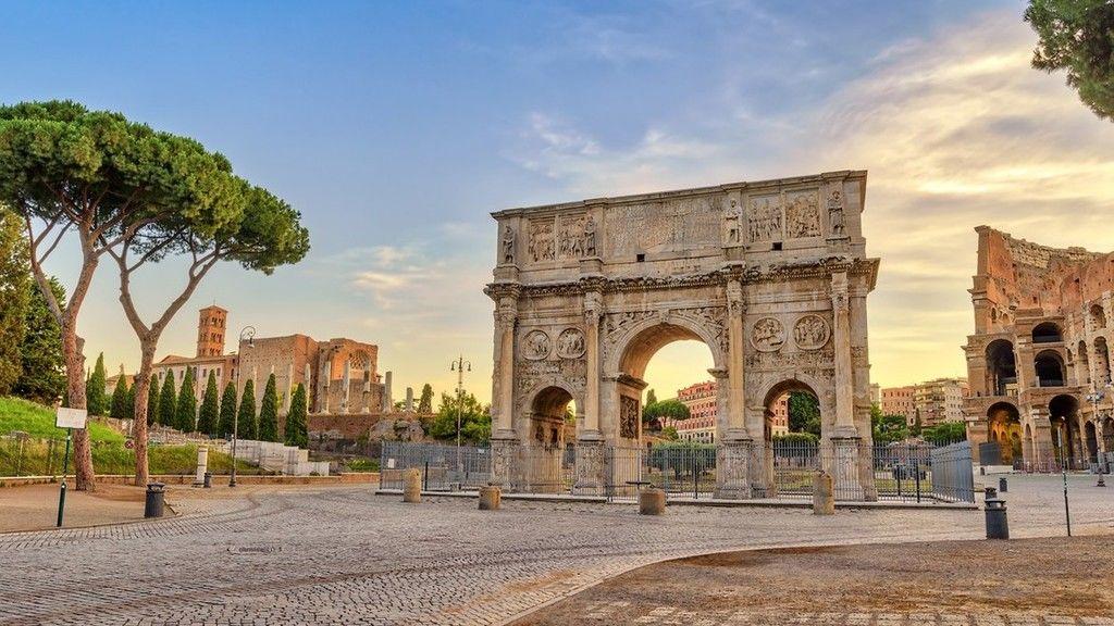Csatatérré vált Róma (Illusztráció: iStock)