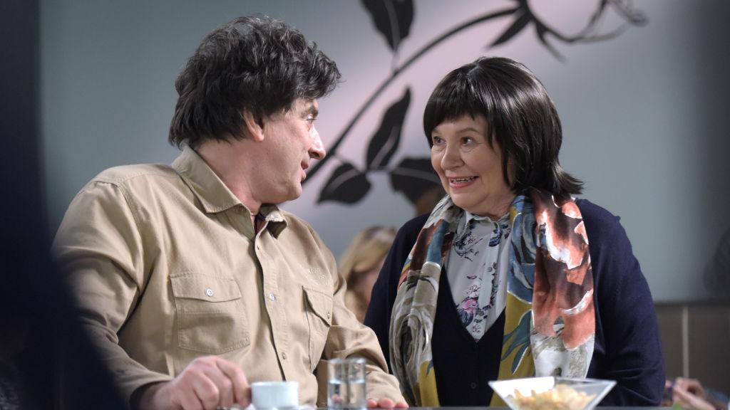 Zsurzs Kati a Barátok köztben is játszik, ő alakítja Tihanyi Tóth Csaba édesanyját a sorozatban. Fotó: Smagpictures.com / Tamás Korponai