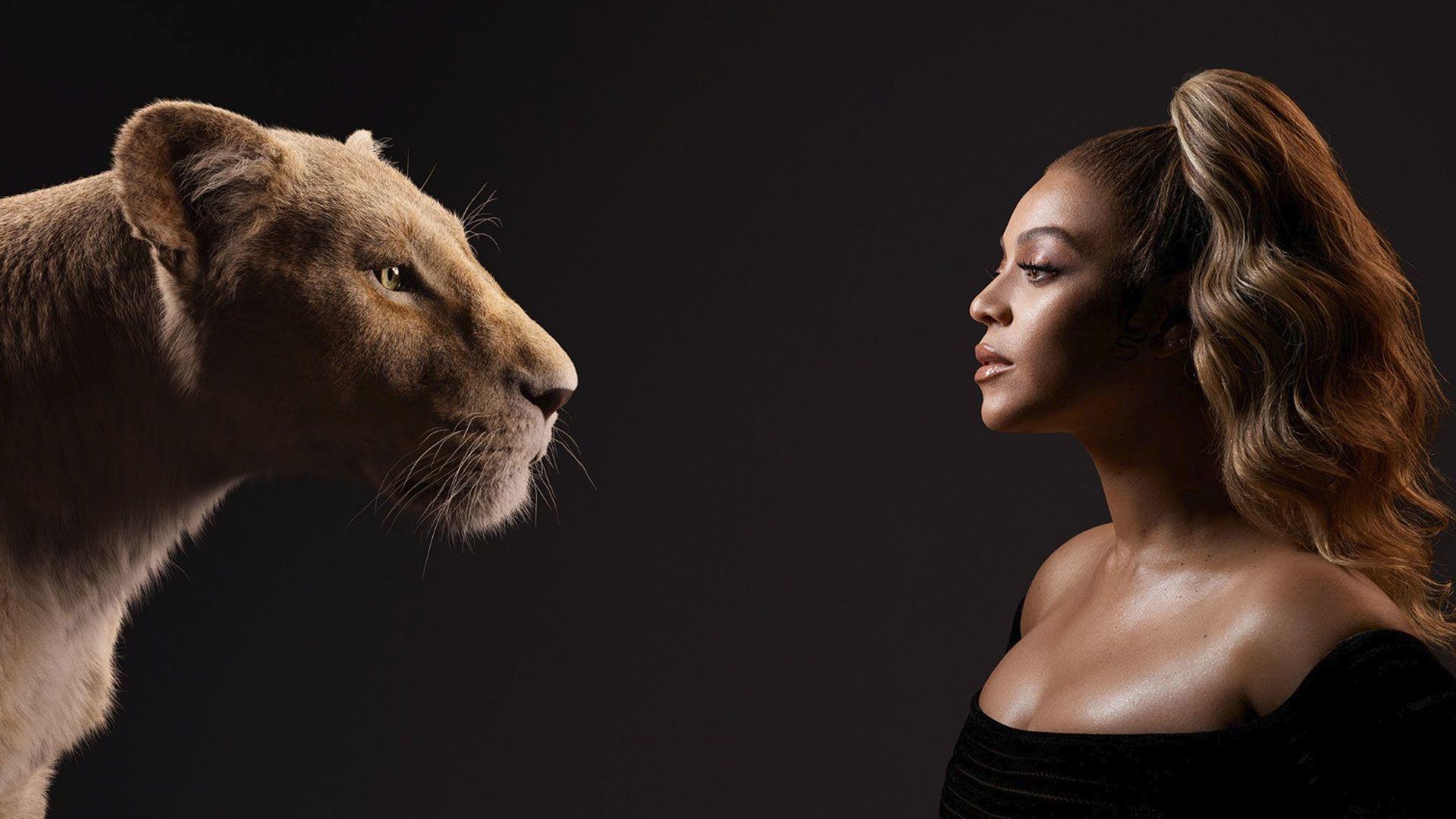 Beyoncé értékeinek lába kélt (Fotó: The Lion King/Twitter)