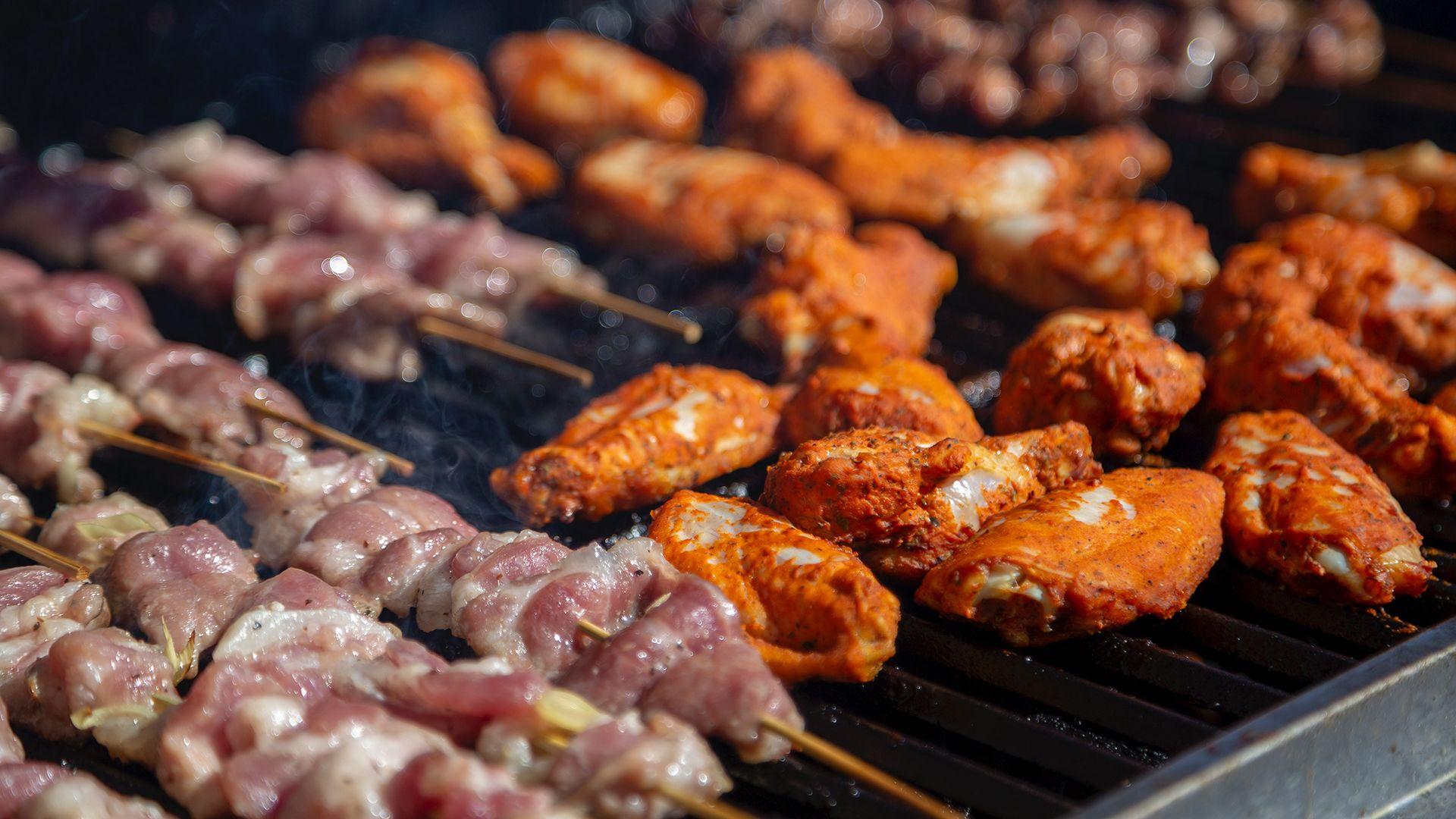 grill, grillezés, hús