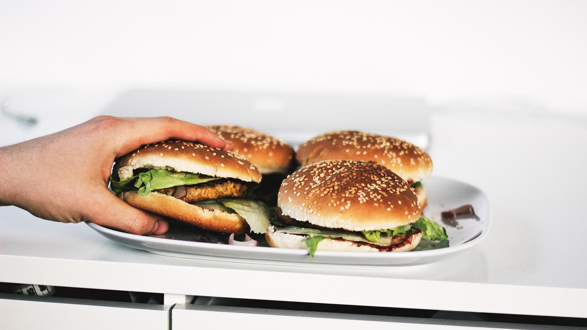 hamburger, étel