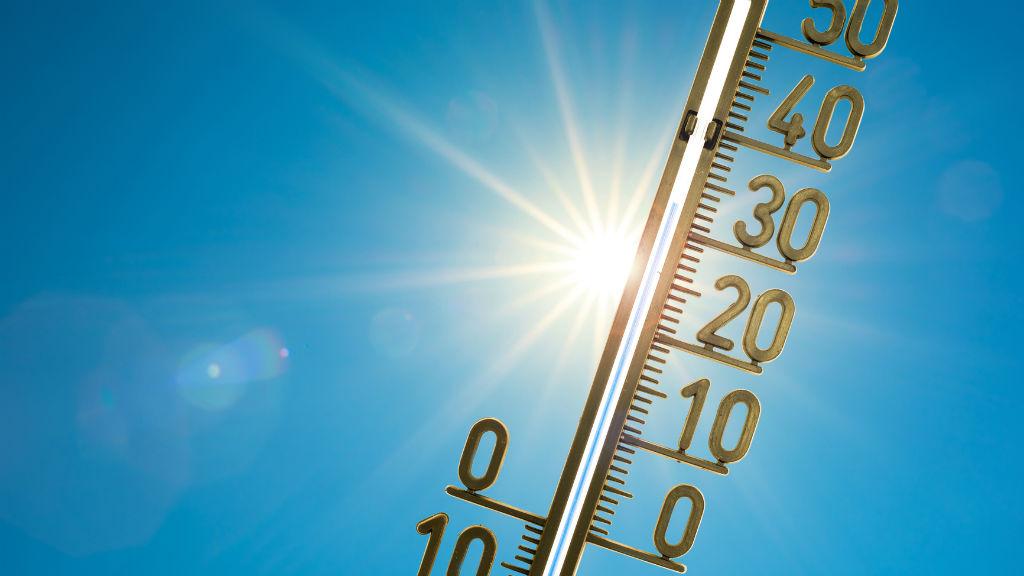 hőség kánikula hőmérő nyár