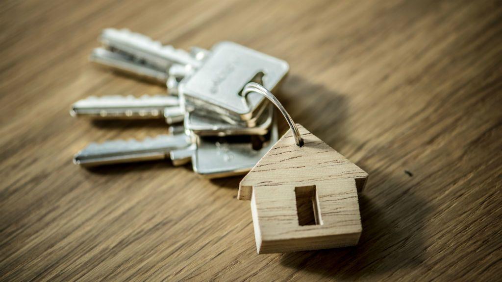 lakás ingatlan kulcs otthon