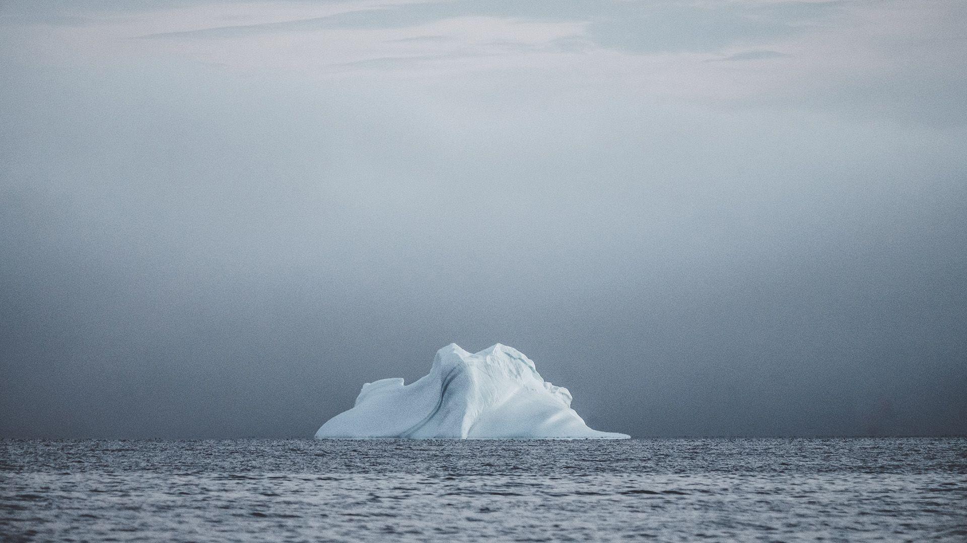jéghegy, globális felmelegedés