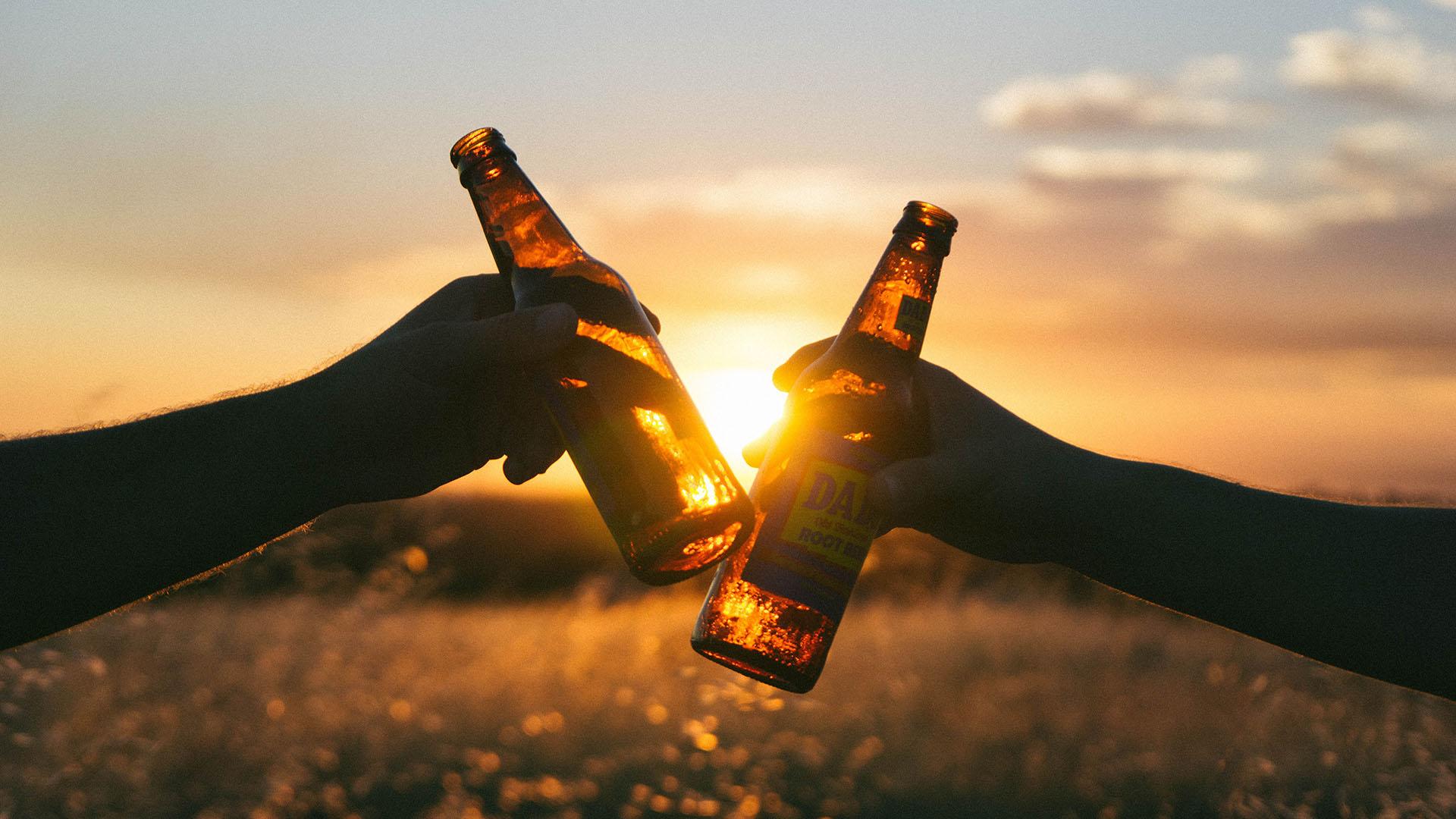 nap, nyár, hőség, sör
