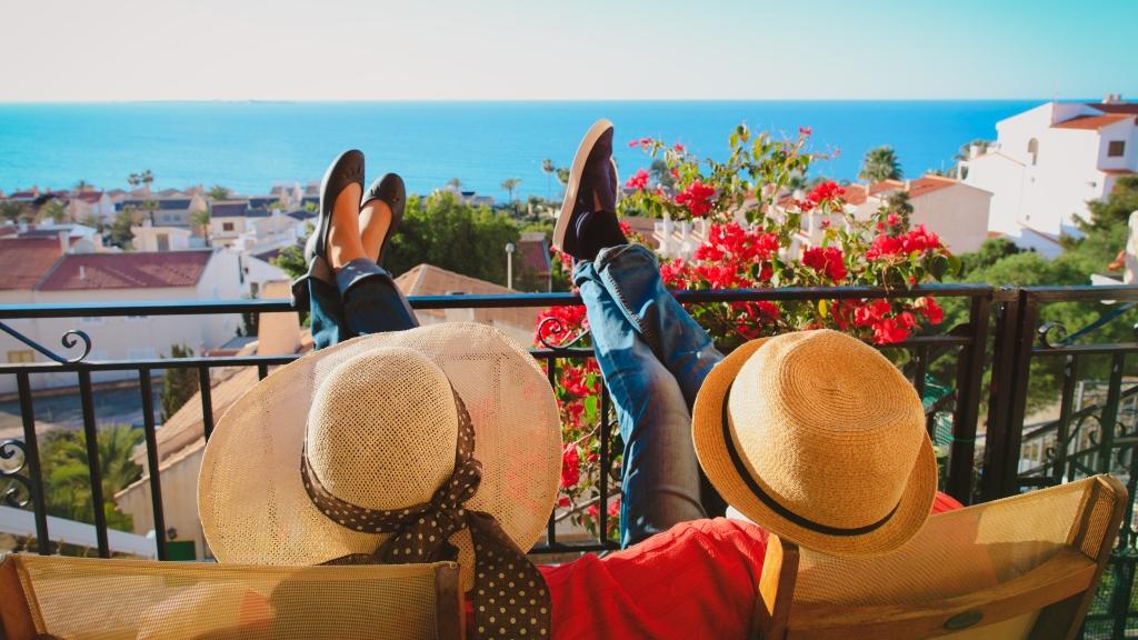 nyaralás pihenés stressz