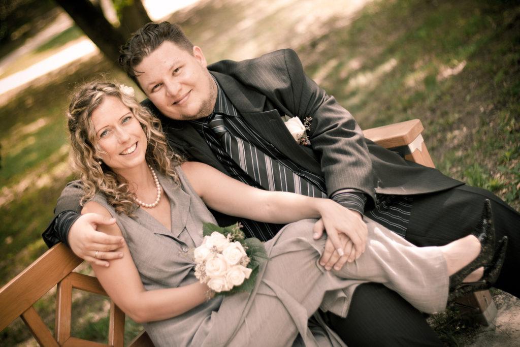 Oravetz Dániel és felesége, Dóri (Fotó: magánarchívum)