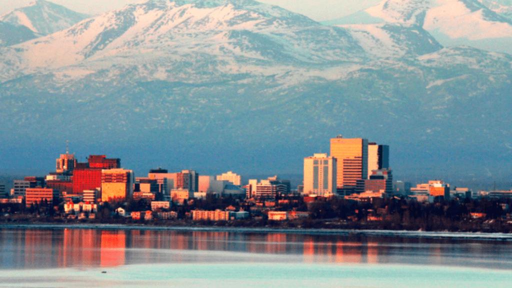 anchorage alaszka hőség