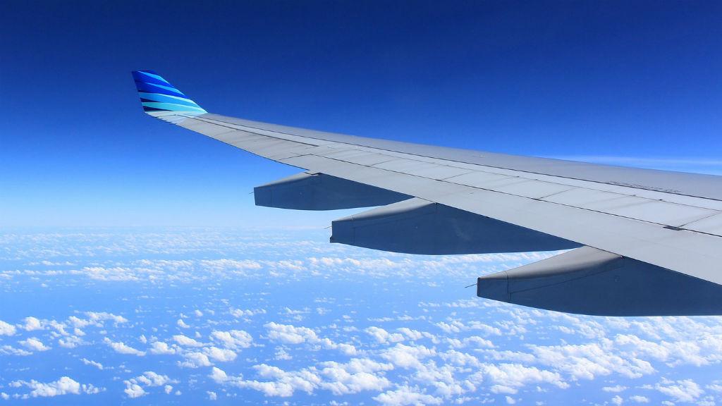repülőgép repülés szárny repülőút