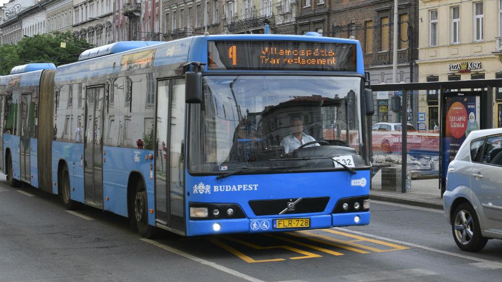 villamospórló busz bkv