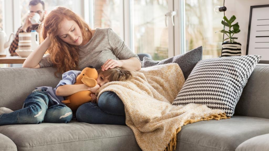 beteg gyerek szülők