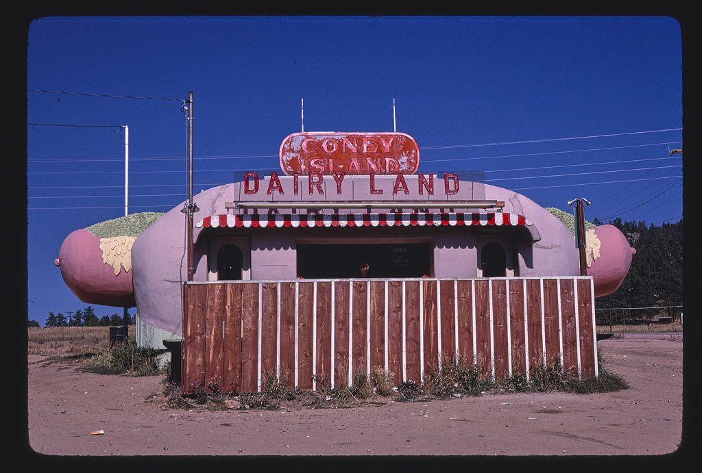 Coney Island Dairy Land, Route 285, Aspen Park, Colorado, 1980