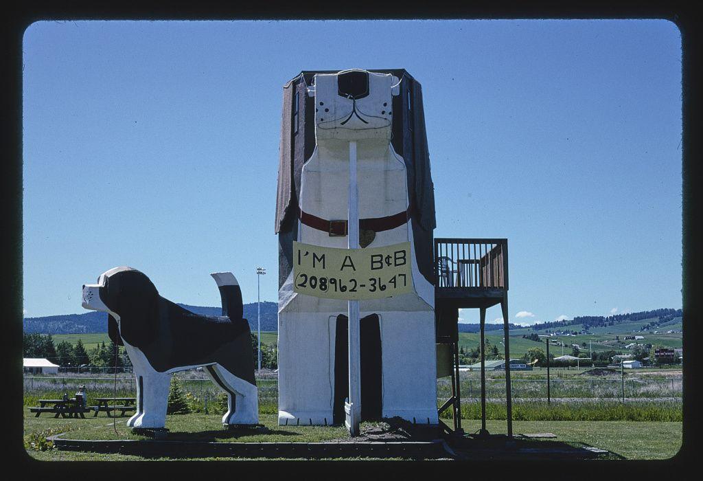 Dog Bark Park, Route 95, Cottonwood, Idaho, 2004