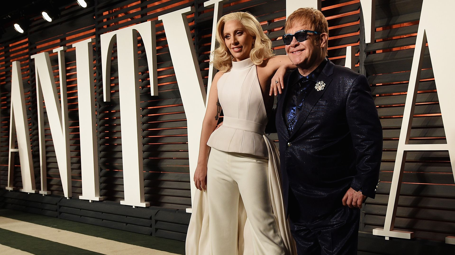 Elton John és Lady Gaga - Fotó: Getty Images
