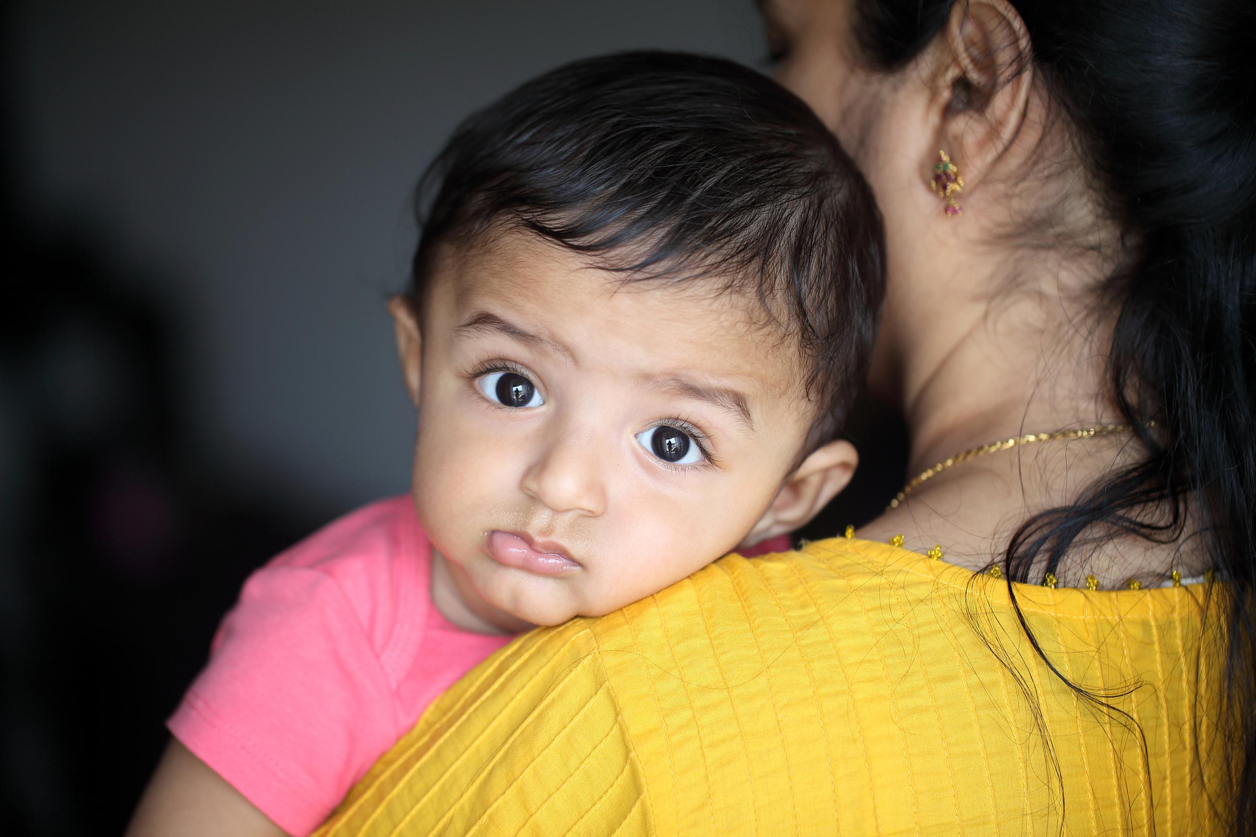 indiai kisgyerek