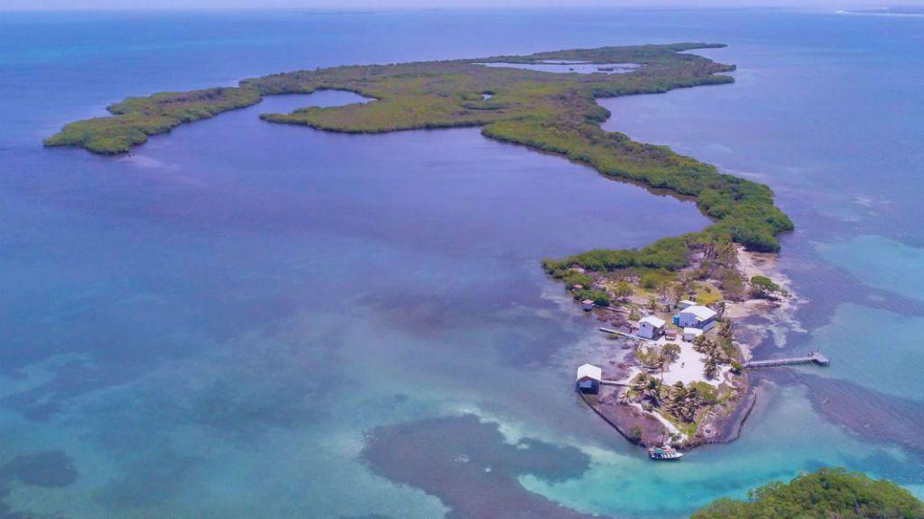 eladó sziget belize