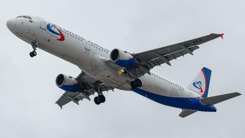 ural airlines airbus repülőgép