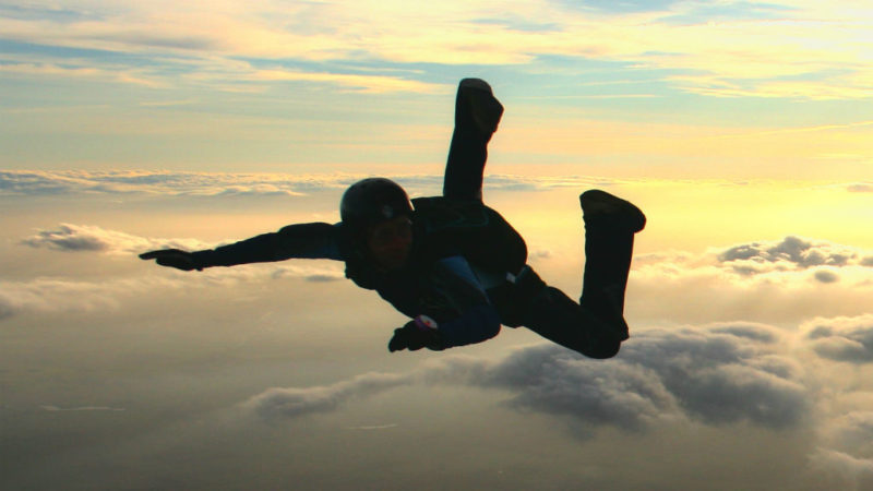 ejtőernyős ugrás
