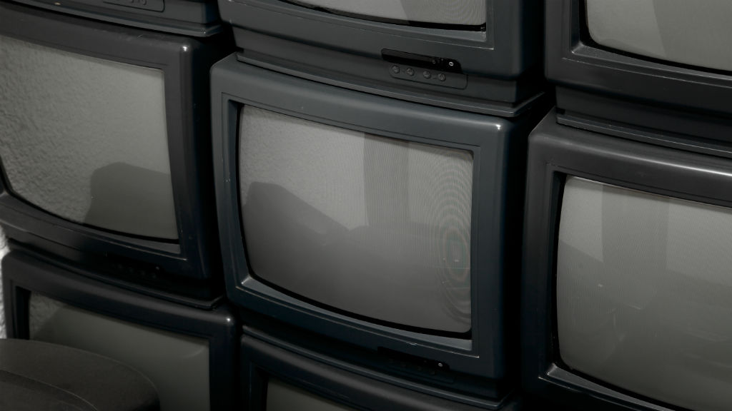 régi tévé