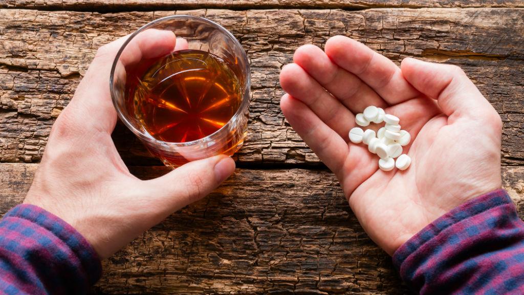 alkohol nyugtató függőség