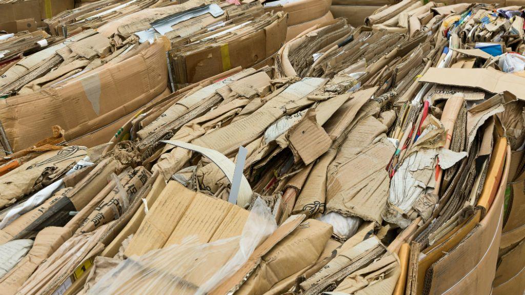 karton hulladék