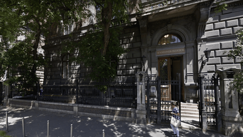 Semmelweis Egyetem rektori hivatal