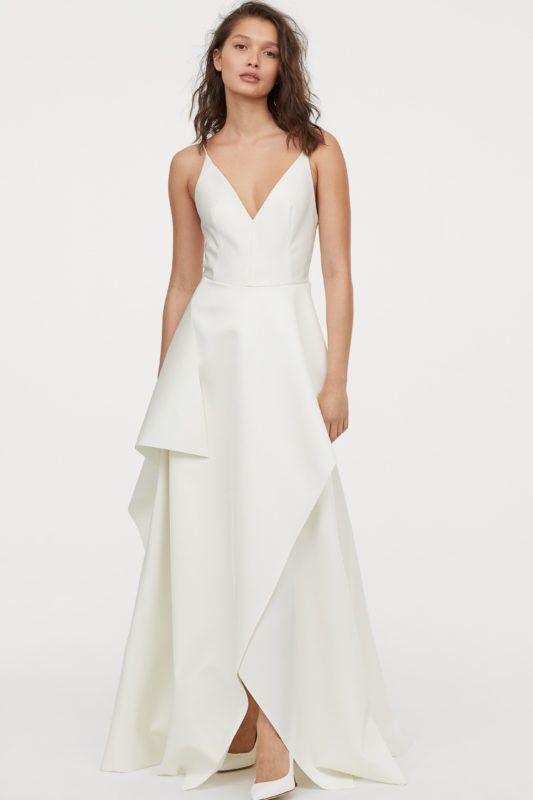 H&M menyasszonyi ruha