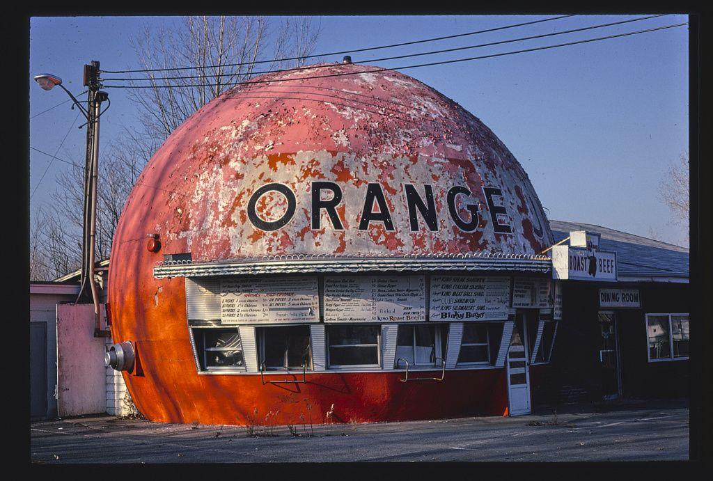 Orange Julep, Route 9, Plattsburgh, New York, 1978