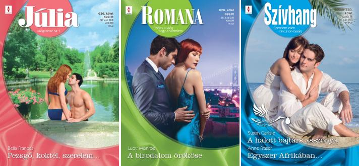 romana kötetek