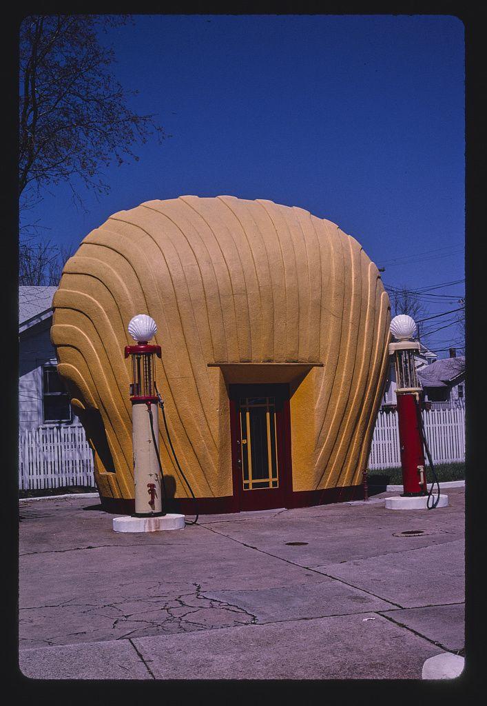"""Shell"" benzinkút, Winston-Salem, North Carolina, 2001"
