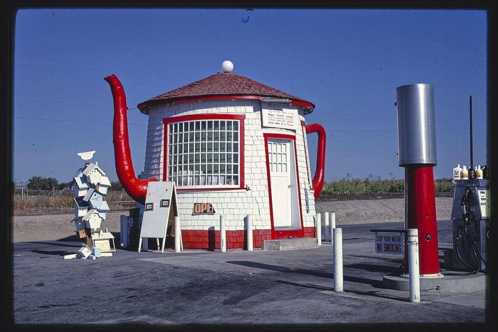 Teapot Dome benzinkút, Zillah, Washington, 1987