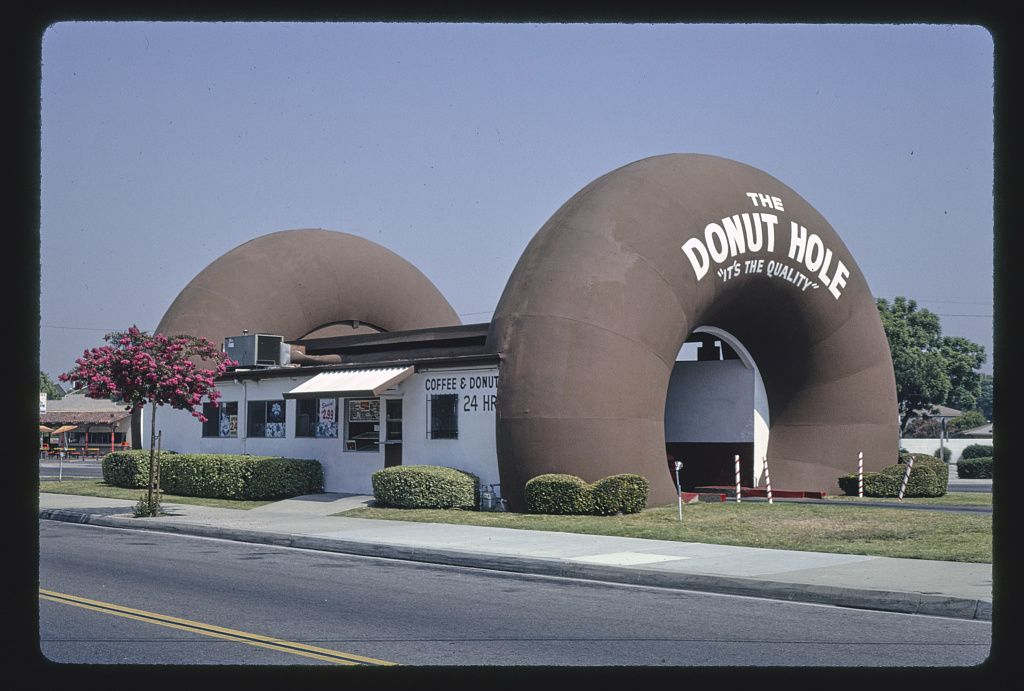 The Donut Hole, Amar Road, La Puente, Kalifornia, 1991