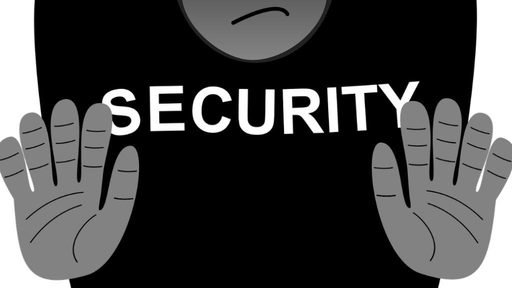 biztonsági őr kidobó security