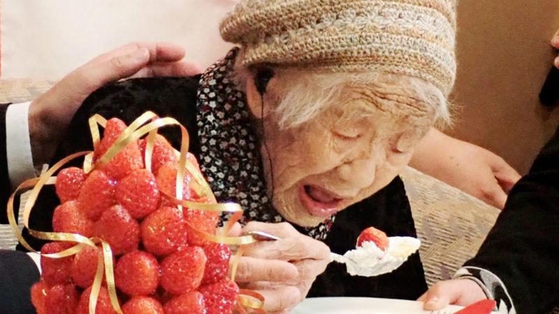 Tanaka Kane legidősebb japán nő