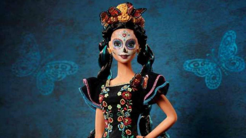 halottak napja Barbie